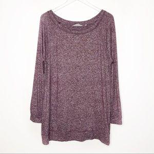 Athleta | Women's Purple Tunic Sweater Size XL